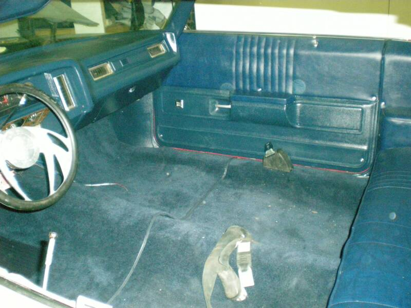 They are designed to match Replacement Carpet and to be an exact replacement for OEM floor mats.
