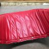 Red bucket seat - cover snaps on